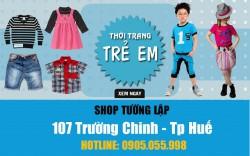 Shop thời trang trẻ em ở Huế